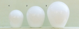 Glazen kap bolvormig model Ballon klein (1) nr: 200.00 Opaal