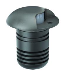 Buitenspot grondspot 1-bundel ALU antraciet LED 5W gat 6,4cm nr 5384