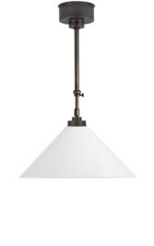 Schuifstang 2x50cm brons kleur opaal dakkap 40 nr 2Sb-40.00