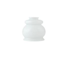 Glazen kap ijsmuts d13cm h12cm gr5,5cm E27 opaal nr 447.00