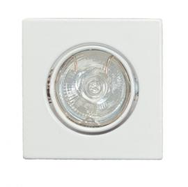 Inbouwspot Dublin 20mm vierkant kantelbaar wit 05-1170-31