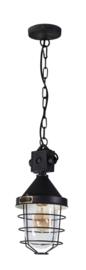 Industriële hanglamp h-140cm model Bond zwart 1xE27 nr 05-HL4363-30