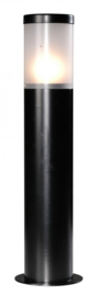 Buitenlamp paal h-55 serie Lumare opaal-acryl 2 kleuren leverbaar nr: 331