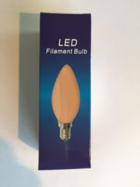 Global-Lux filament kaarslamp E14 1W/15W 230V flame nr 6-183526