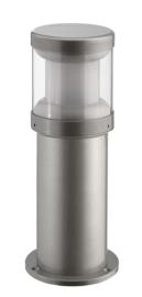 Buitenlamp serie Polo sokkel 35cm zilver op bestelling nr: 403.035-45