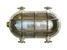 Buitenlamp wand serie Maritiem messing h-15cm nr: 23209-32