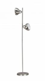 Vloerlamp Head 2L h161cm staalkleur nr 05-SP8250-1117