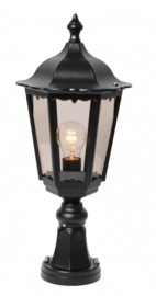 Buitenlamp sokkel serie Cartella II in 2 kleuren leverbaar nr: FL2062