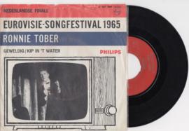 Ronnie Tober met Geweldig 1965 Single nr S2020300