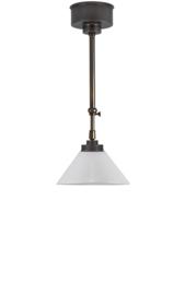 Schuifstang 2x25cm brons kleur opaal dakkap 20 nr 1Sb-20.00