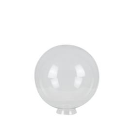 Glazen bol rond helder doorzichtig d-25cm gr-80mm nr 2500.55