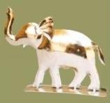 Antiek nikkel olifant