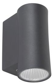 buitenspot gevelspot 1-licht downlighter antraciet LED 6W nr 3630381