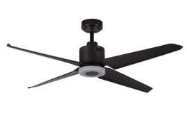 Plafondventilator nr.1 4-blads ventilator zwart d-137,2cm afstandbed. nr. 05-V9800-30
