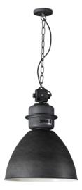 Industriele fabriekslamp Factory donker grijs d40cm h156cm nr 05-HL4423-17