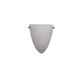 Wandlamp druppel S. met ophanging mat opaal glas nr 2292.07 + h292.39