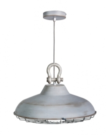 Hanglamp model Industry metaal mat zink 45cm E27 nr 05-HL4366-18