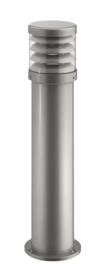 Buitenlamp serie Polo staand raster 70cm zilver op bestelling nr: 402.070-45