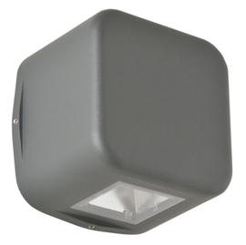 Buitenlamp wand serie Kubs 1 zijde 4W LED grafiet nr 404.00/1