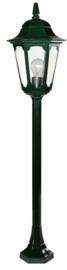 Buitenlamp mast h-104cm serie Hexagon 2 kleuren leverbaar nr: 14023