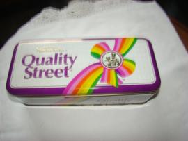 Quality Street langwerpig blik uit  september 1992.