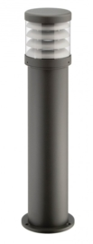 Buitenlamp serie Polo staand raster 70cm antractiet nr: 402.070