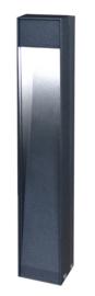 Buitenlamp staand serie Quantum h49cm ALU antraciet LED 8W nr 5526
