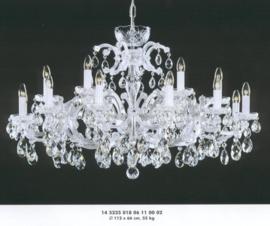 Boheems kristallen 18-lichts luchter 112CM nr 14 5235 018 0611