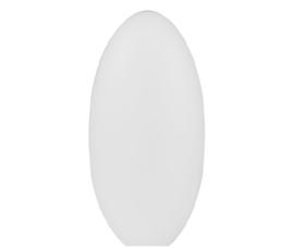 Mondgeblazen kap pilvorm gt-3cm opaal mat nr 100.39