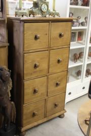 Antiek Ladenblok kantoorkast origineel omstreeks 1920 nr 10025
