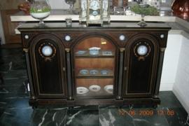 Ingelegd antiek engels dressoir