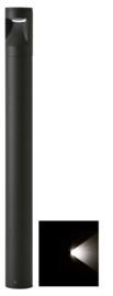 Buitenlamp mast Lako h-60cm 1 zijde licht LED 7W antraciet nr 409.060/1