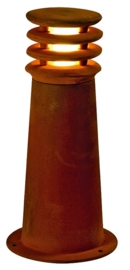 Buitenlamp staand h40cm serie Rusty geroest staal E27 nr 10-442984