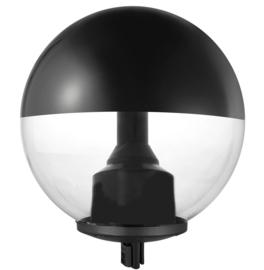 Buitenlamp kop PMMA helder/zwart LED 22W 3000K IP65 nr 10-341078