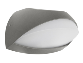 buitenspot wandspot ALU antraciet LED 6W 2jr. garantie nr 10-360630