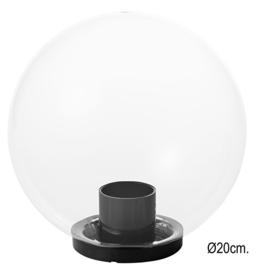Globe voor buitenlamp serie Variona helder d-20cm nr GLHE20