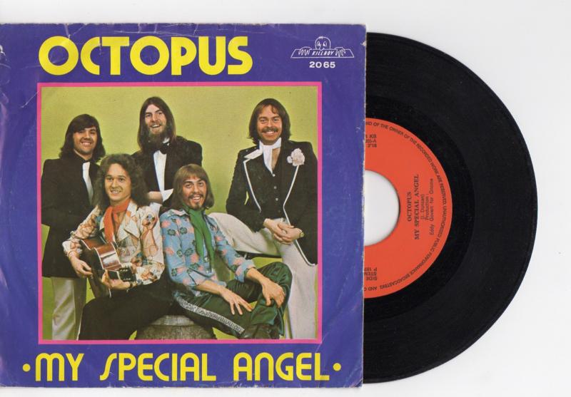 Octopus met My special angel 1975 Single nr S2021942