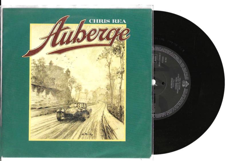 Chris Rea met Auberge 1991 Single nr S20211091