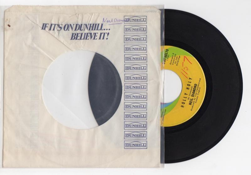 Neil Diamond met Holy Holy 1969 Single nr S2021944