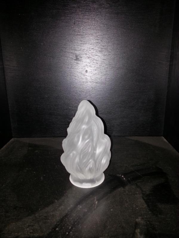 Glas mini vlam gesatineerd d-8,5cm gr-57mm nr 992.21
