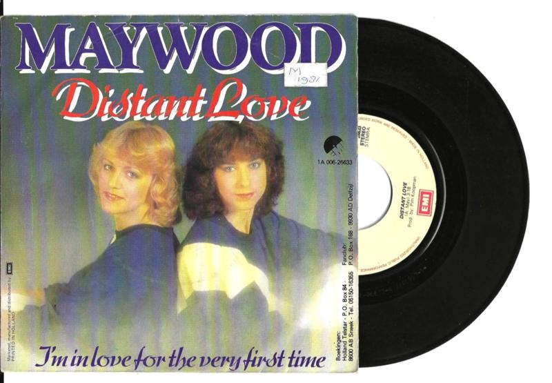 Maywood met Distant love 1981 Single nr S20211092