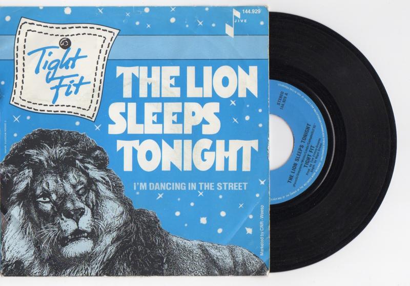 Tight Fit met The lion sleeps tonight 1982 Single nr S2021579