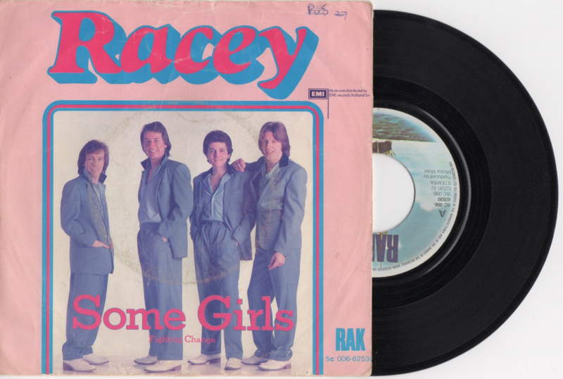 Racey met Some girls 1979 Single nr S2020363