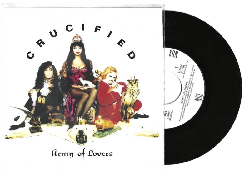 Army of lovers met Crucified 1991 Single nr S20211093