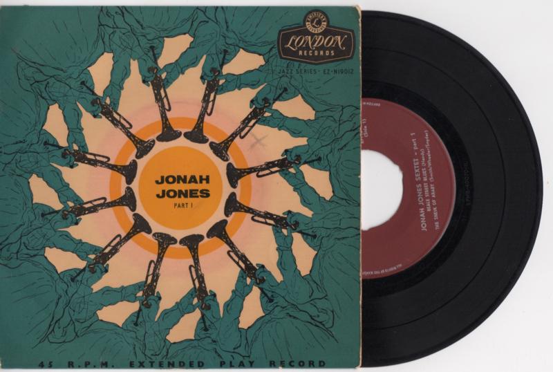Jonah Jones sextette met Beale street blues 1956 Single nr S2020364