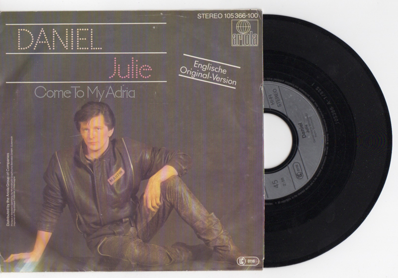 Daniel met Julie 1983 Single nr S2021584