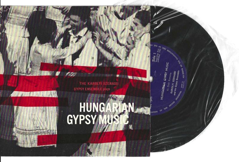 Karolyi Szenassi met Hungarian gypsy music 1962 Single nr S20211088