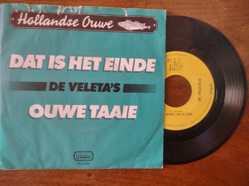 De Veleta's met Dat is het einde 1981 Single nr S20211221