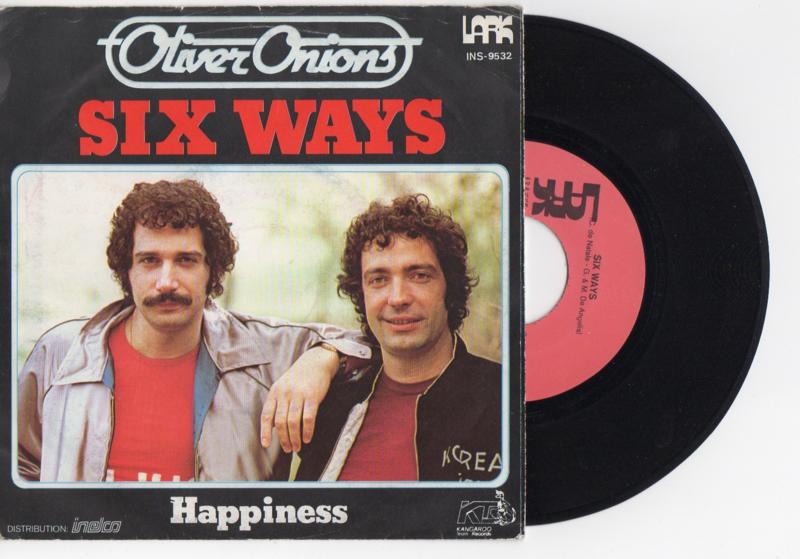 Olivier Onions met Six ways 1979 Single nr S2021582