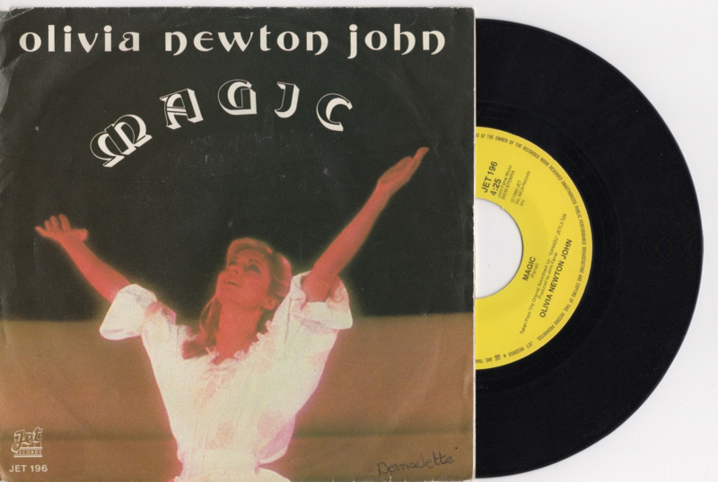 Olivia Newton John met Magic 1980 Single nr S2020357